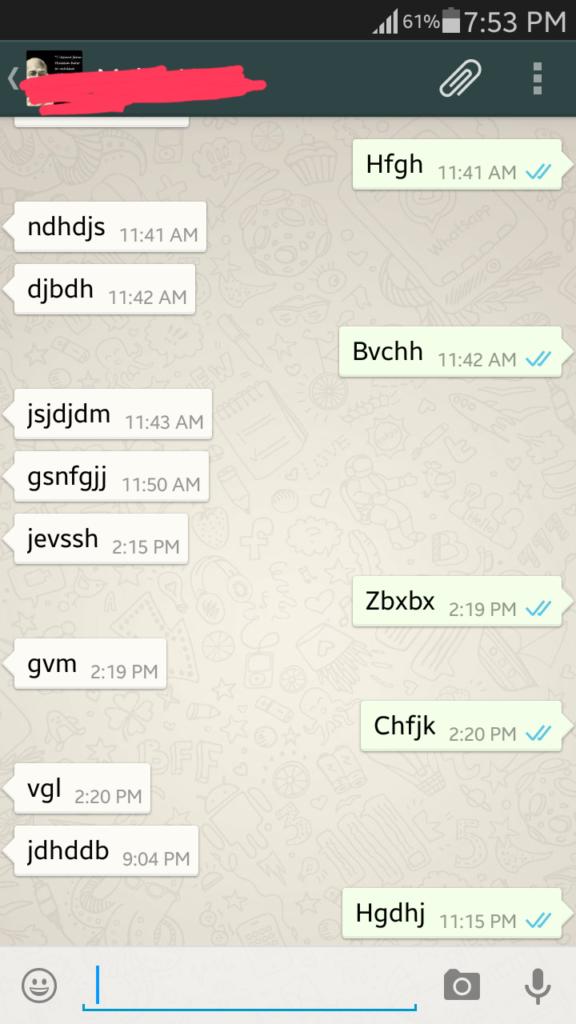 whatsapp double blue ticks