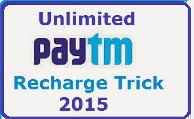 PAYTM UNLIMITED HACK TRICK 2015