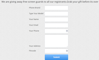 (*FREEBIE*) Free Screen Guards For All Your Phones By Namocart-june'15