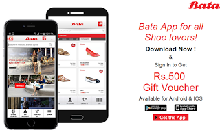 LOOT: INSTALL BATA APP AND GET RS.500 GIFT VOUCHER