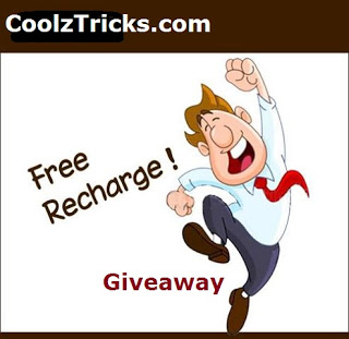 (*HUGE*)FREE RECHARGE UPTO RS.2500 GIVEAWAY BY COOLZTRICKS-JUNE'15