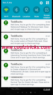 (*DHOOM*) EARN UNLIMITED PAYTM CASH IN TASKBUCKS (TESTED)-JULY'15
