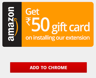 GET UNLIMITED RS.50 AMAZON GIFT CARDS BY INSTALLING MYSMARTPRICE EXTENSION