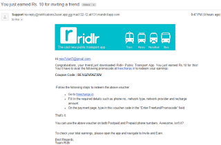 (*HOT*) DOWNLOAD Ridlr APP & GET RS.50 FREECHARGE FREEFUND CODE+UNLIMITED TRICK-JUNE'15