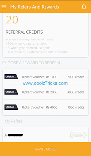 (*DHOOM*) REFER & EARN RS.1000 FLIPKART VOUCHER FREE IN ePOISE JOB INTERVIEWS APP[NO MOBILE VERIFICATION]