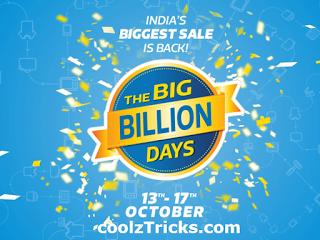 (*MAHA DEALS*) FLIPKART BIG BILLION DAY STARTING FROM 13 OCT TO 17 OCT - UNBELIEVABLE PRICES - OCT'15