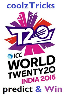 INDIA VS NZ  ICC T20 WC 2016- GUESS THE SCORE & WIN FREE PAYTM CASH RECHARGES-MAR'16