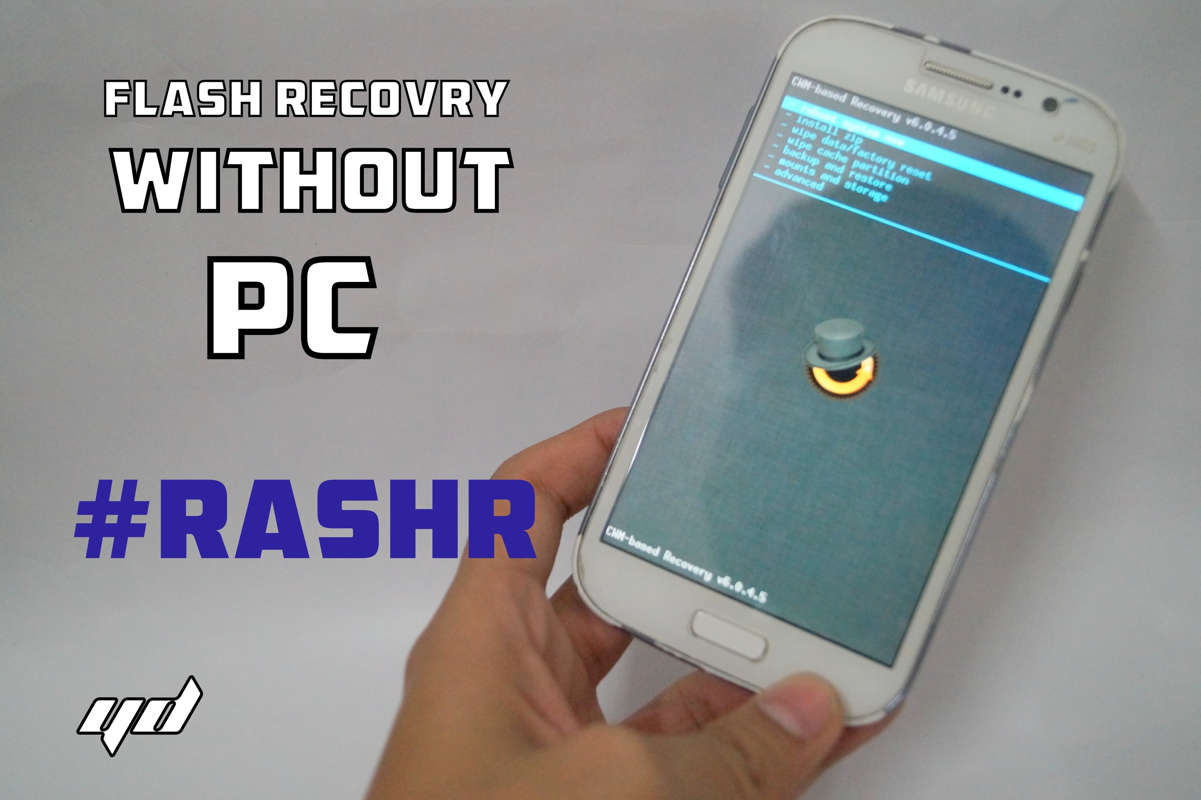 HOW TO FLASH CUSTOM RECOVERY IN ANDROID USING RASHR- May'17