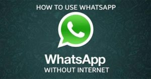 WHATSAPP TRICKS - How to use Whatsapp without Internet