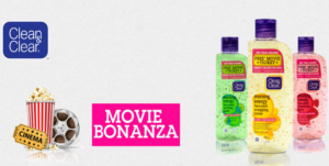 Free Movie Voucher Worth 150 with Clean&Clear Face wash for Rs. 100.0 at Cleanandclear