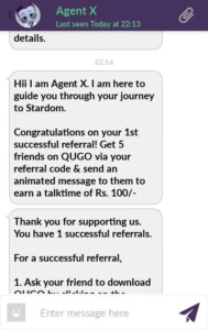 QUGO App : Refer 5 Friends Get Free Rs.100 Recharge + Win Lenovo K3 Note-May'16