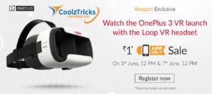 Amazon : OnePlus 3 VR Loop Headset
