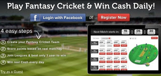 Dream11 Fantasy Cricket : Earn Unlimited Cash (Rs.250/Signup)