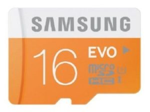 amsung Evo 16GB Class 10 micro SDHC Card in just Rs.265