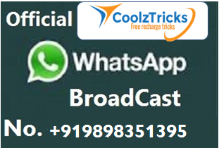 coolzTricks Whatsapp Brodcast