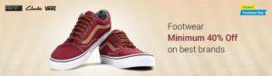 Flipkart Deals : Men's Branded Footwear Offer