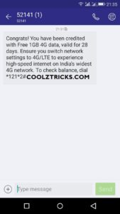 data know for airtel