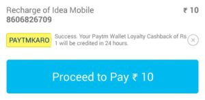 Paytm Offer : 5% Cashback on Recharge & Bill Payment (No Minimum)