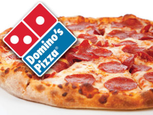 Domino's Pizza 100 off on 300 code