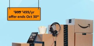 (Last Day) Buy Amazon Prime Membership For ₹499 (₹999 From Tomorrow)
