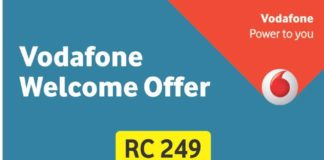 Vodafone Welcome Offer-Unlimited Free Voice calls & Unlimited Data
