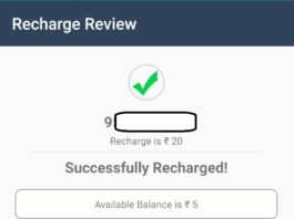 (Recharge Loot) Financial Freedom App- Get Rs.25 Instant Free Recharge On SignUp