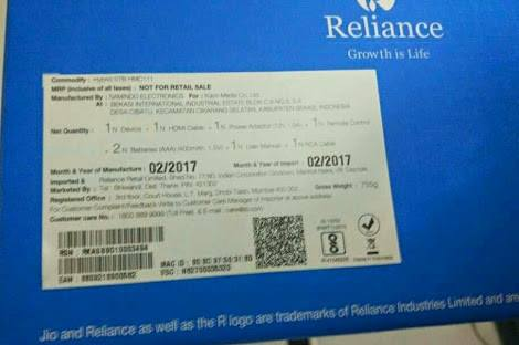 Leaked*] Jio DTH Offers,Price,Launch Date,Free 3 Months Service