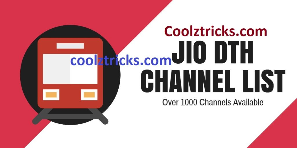 Jio DTH Channels List : More Than 1000 Channels In Entertainment , Sports,Movie And Many More