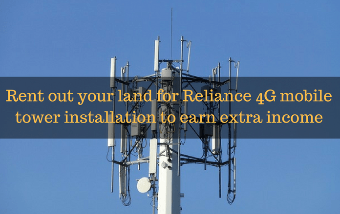 Full Details] Reliance Jio Tower Installation : How to Apply & Earn