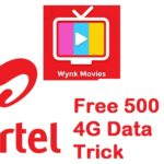 (Loot Lo) Airtel Free 500 MB 4G Data For 30 Days Instantly In All Numbers