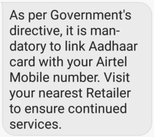 How To Link Your Aadhaar Card To Mobile Number To Keep It Active
