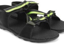 Flipkart- Buy Puma Black Sports Sandals at just Rs 390 only