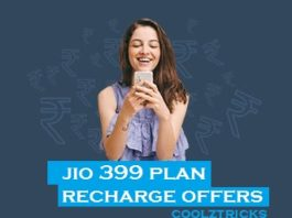 Jio 399 Plan - Best Recharge & Cashback Offers For Jio 399 Plan