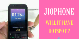 Will JioPhone Has Wifi Hotspot & Wifi ? -Know Here