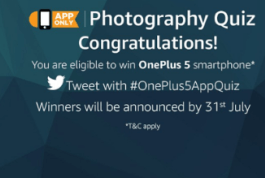 Amazon Win Oneplus 5