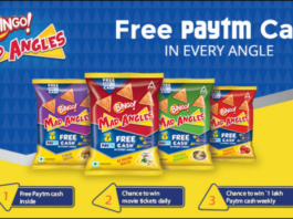 Paytm Bingo Mad Angles Offer-Get Free Rs.30 Cash, Movie Tickets&1 Lakh Paytm Cash