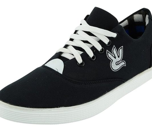 Amazon - Buy Big Foot Black Synthetic Sneaker in Just Rs 99