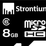 Amazon -Buy Strontium 8GB MicroSDHC Class 6 Memory Card Just Rs 299
