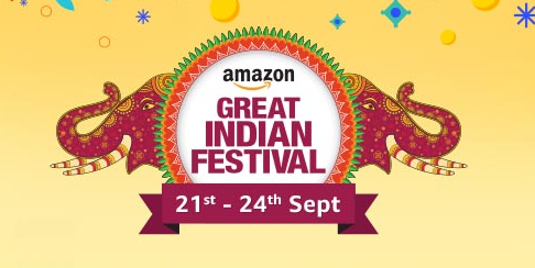 (Live) Amazon Great Indian Sale : Products Upto 80% Off(Sept:21-24)