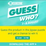Amazon app Guess Who Puzzles Solve & win Free Products (All Answers)