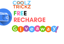 "CoolzTricks Sunday ""Free Recharge"" Giveaway -Win Free Recharge"