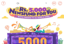 [Maha Loot] Refer & Earn Rs.5000 Directly In PayTM From UC News(Rs.2000 On Signup)