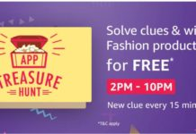 (All Answers) Amazon App Treasure Hunt 10th Oct-Free Products Tricks
