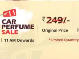 (Register Now) Droom Flash Sale - Get Car Perfume in Just Rs.11(Sale on 14th)