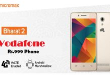 Vodafone Rs.999 Android Phone-How To Buy, Details Of Bharat-2 Ultra
