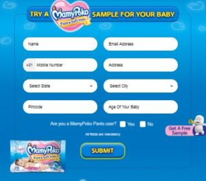 MamyPoko - Get Free Sample of MamyPoko For Your Baby
