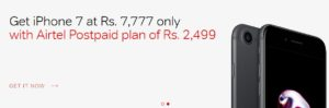 Airtel Rs.7777 iPhone 7 Offer- Know The Reality & Full Details