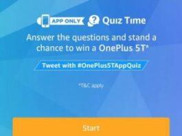 (All Answers) Amazon OnePlus 5T Quiz-Win OnePlus 5T Starwarz Edition