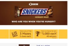 (All Answers)Amazon Snickers Hunger Maze contest - Answers & win Rs 5000