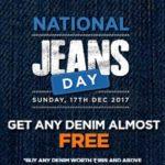 Big Bazaar Loot- Any Denim Jeans Worth Rs.999 For Free(17th Dec)